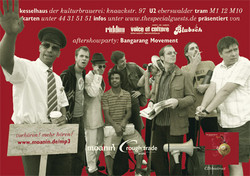 Flyer: The Special Guests Record Release Party zur CD Beetroot (Hinten - Bandfoto von Anja Pietsch)