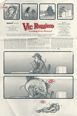 Vic Ruggiero – Something in my Blindspot (CD-Cover-Rückseite ausgeklappt)